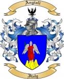 Angioli Family Crest from Italy