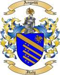 Angotti Family Coat of Arms from Italy
