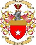 Annes Family Coat of Arms from England