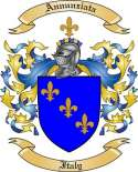 Annunziata Family Crest from Italy