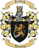 Ansbach Family Crest by The Tree Maker