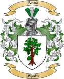 Anso Family Coat of Arms from Spain