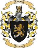 Anspach Family Crest from Germany