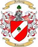 Anthony Family Crest from Lebanon