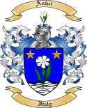 Antni Family Crest from Italy