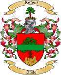 Antoni Family Crest from Italy