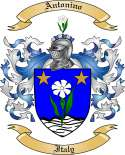Antonino Family Coat of Arms from Italy