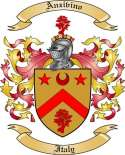 Anzivino Family Crest from Italy