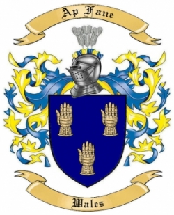 Ap Fane Family Crest from Wales