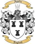 Applin Family Coat of Arms from England