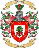 Arana Family Coat of Arms from Spain