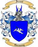 Arant Family Crest from Germany