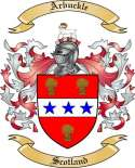 Arbuckle Family Crest from Scotland