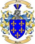 Arce Family Coat of Arms from Spain