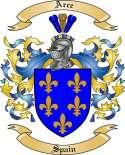 Arce Family Crest from Spain