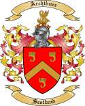Archibure Family Coat of Arms from Scotland