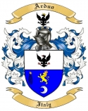 Arduo Family Crest from Italy