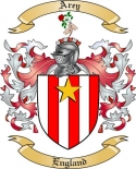 Arey Family Crest from England2