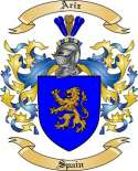 Ariz Family Crest from Spain