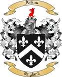 Arkus Family Crest from England
