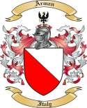 Arman Family Coat of Arms from Italy