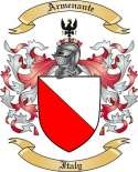 Armenante Family Coat of Arms from Italy