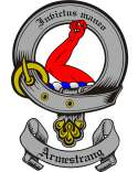 Armestrang Family Crest from Scotland2
