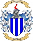 Armestrang Family Crest from Scotland