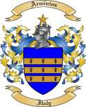 Arminios Family Crest from Italy