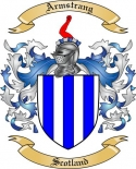 Armstrang Family Crest from Scotland