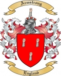 Armstrong Family Coat of Arms from England