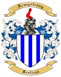 Armystrang Family Crest from Scotland