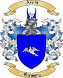 Arndt Family Crest from Germany
