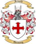 Arnold Family Crest from Germany2