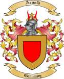 Arnold Family Crest from Germany