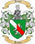 Aroni Family Crest from France