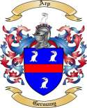 Arp Family Crest from Germany