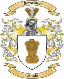 Arratoon Family Coat of Arms from India