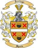 Arriaga Family Crest from Spain