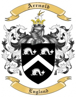 Arrnold Family Coat of Arms from England