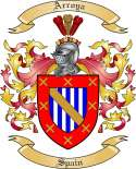 Arroya Family Coat of Arms from Spain