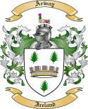 Arway Family Coat of Arms from Ireland