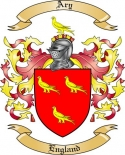 Ary Family Crest from England