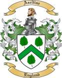 Aseltine Family Coat of Arms from England