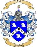 Ash Family Coat of Arms from England