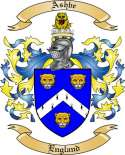 Ashbe Family Crest from England