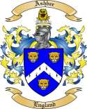 Ashbee Family Crest from England