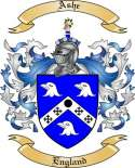 Ashe Family Crest from England