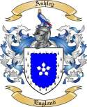 Ashley Family Crest from England