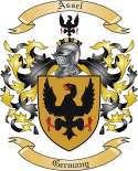 Assel Family Crest from Germany